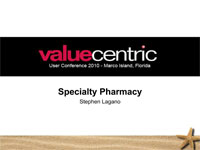 Value Centric 2010 Conference